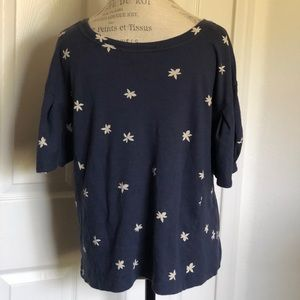 Tops - Navy Blue Blouse Size large